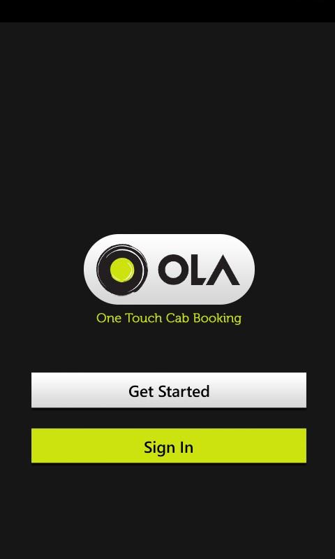 Ola App | Ola cabs mobile App | Ola Android App | Ola iPhone